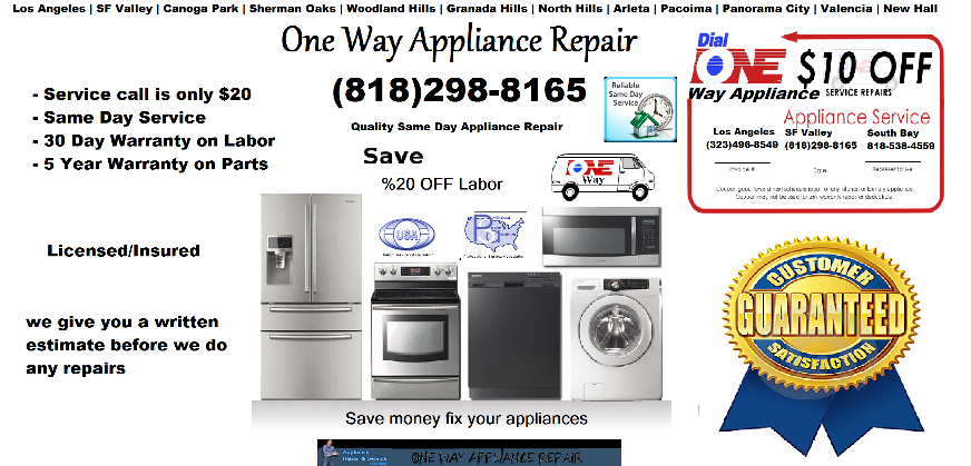 san fernando valley appliance repair