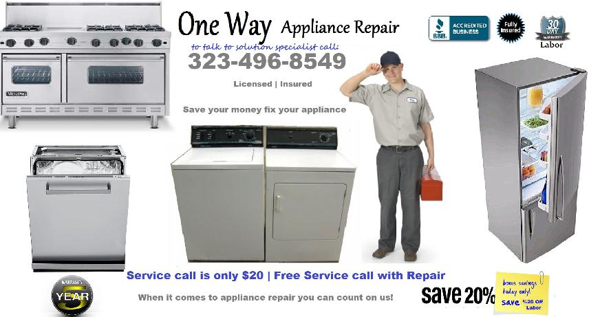 West Hollywood Appliance Repair